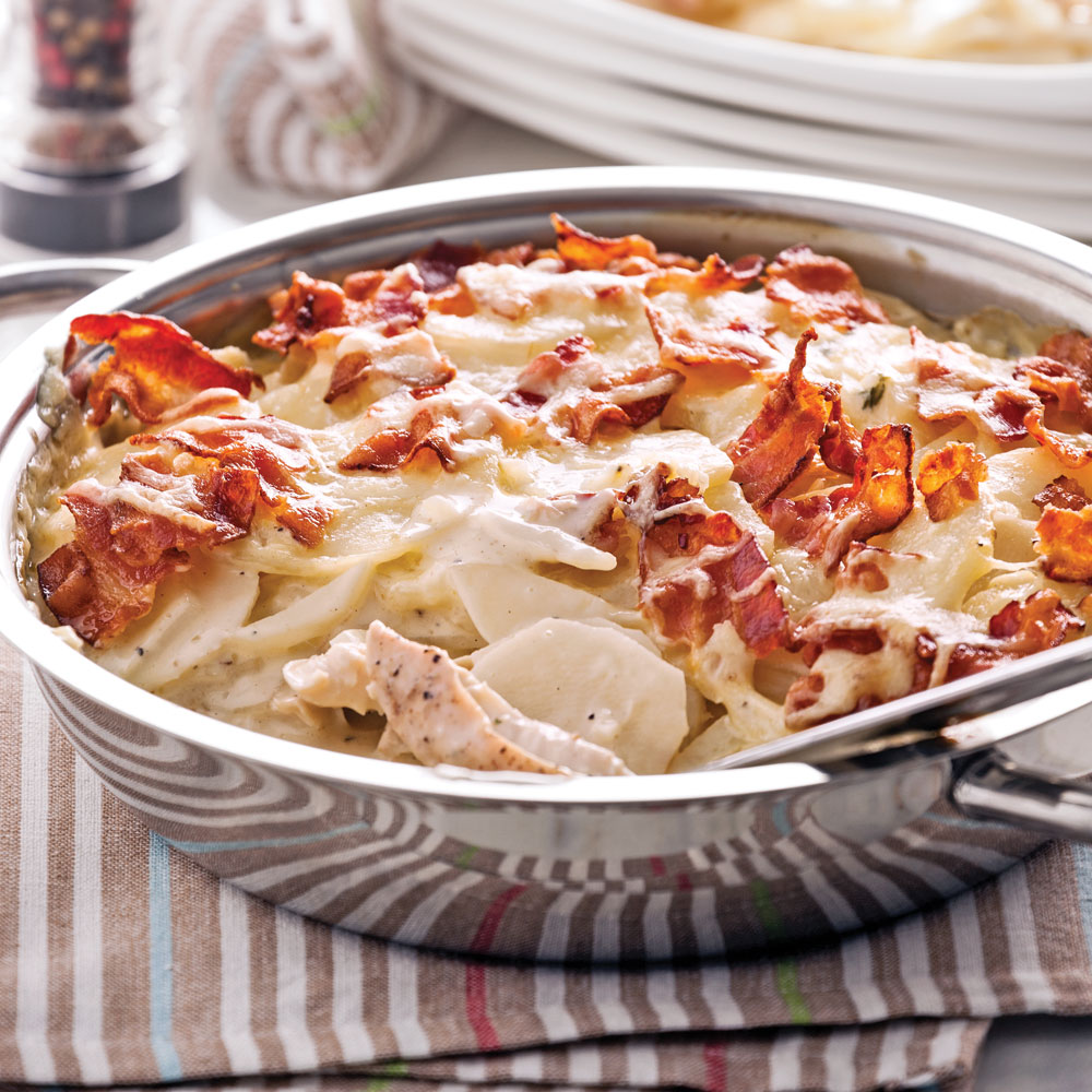 Gratin de poulet et pommes de terre recettes cuisine for Rangement pomme de terre cuisine