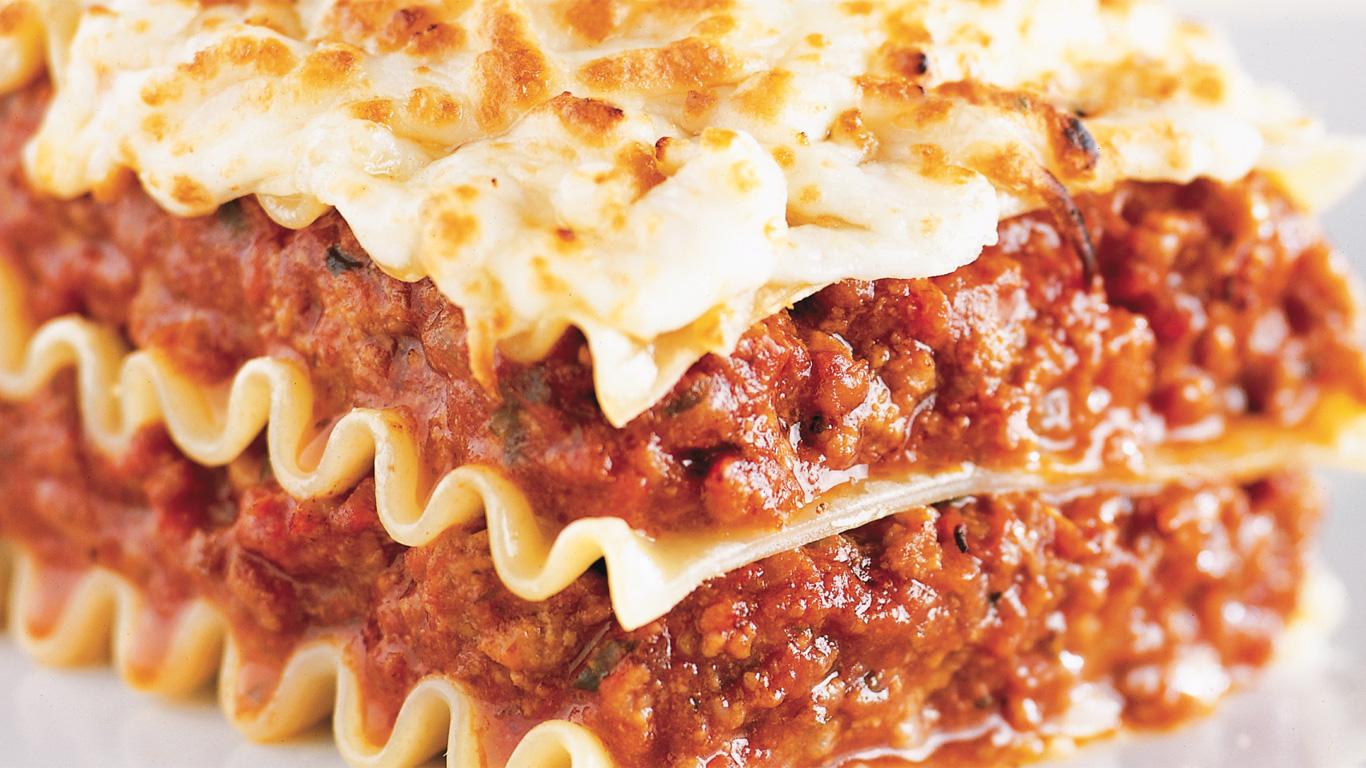 Lasagne la viande recettes cuisine et nutrition for Viande cuisinee