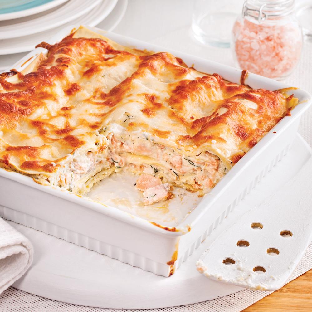 lasagne au saumon facile faire recettes cuisine et