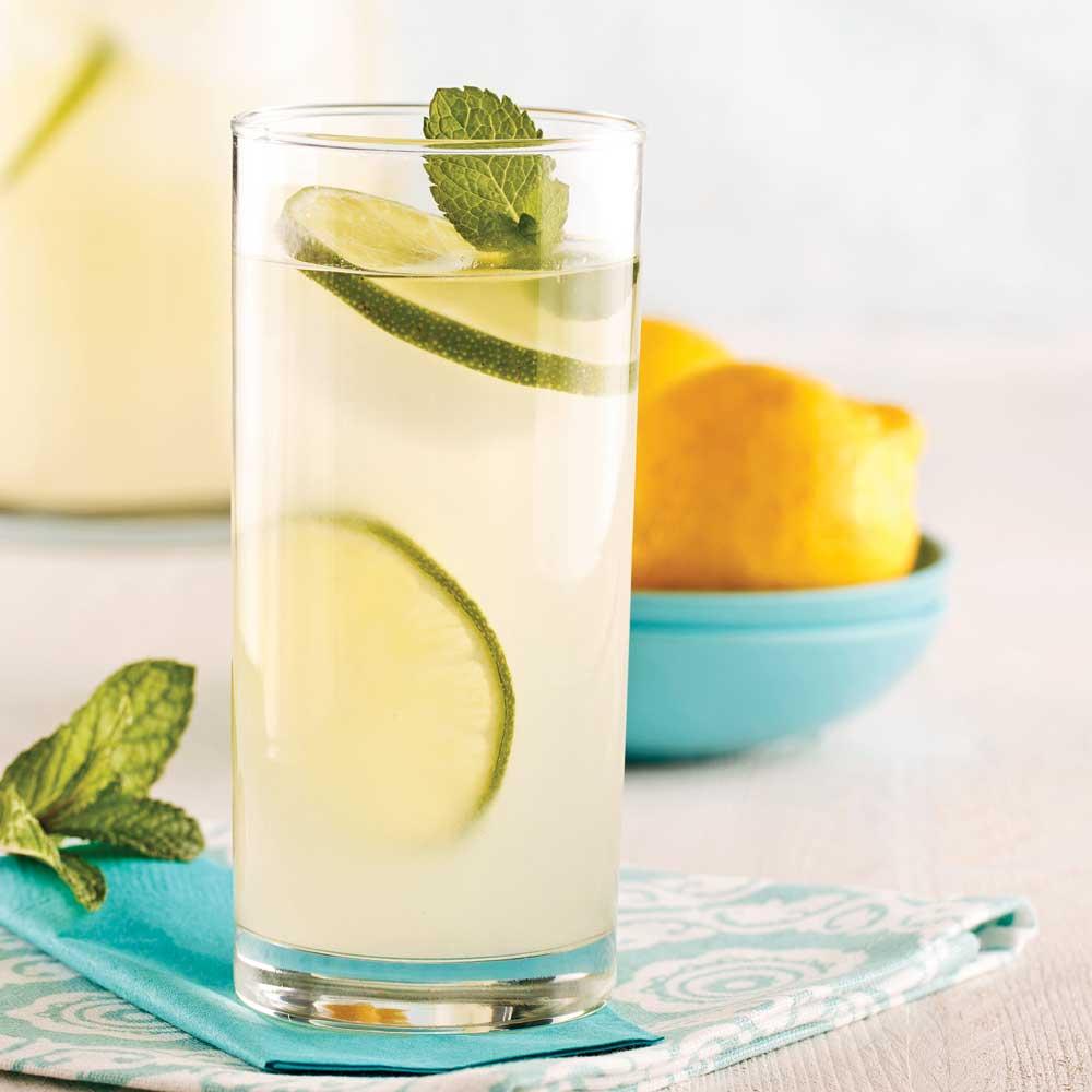 Limonade gin-gingembre - Recettes - Cuisine et nutrition