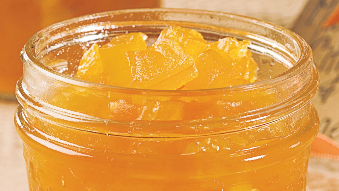 marmelade de citrouille et d 39 orange recettes cuisine. Black Bedroom Furniture Sets. Home Design Ideas