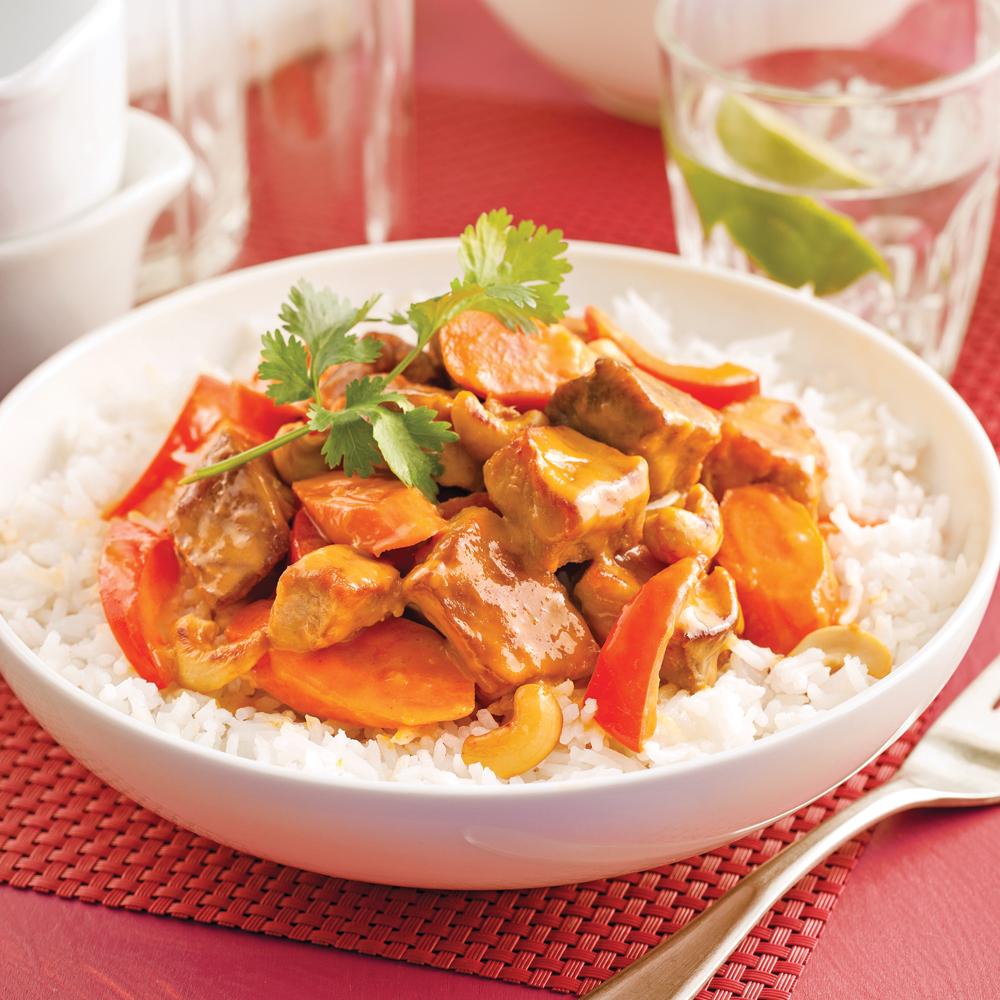 Mijoté de porc à l'asiatique   recettes   cuisine et nutrition ...