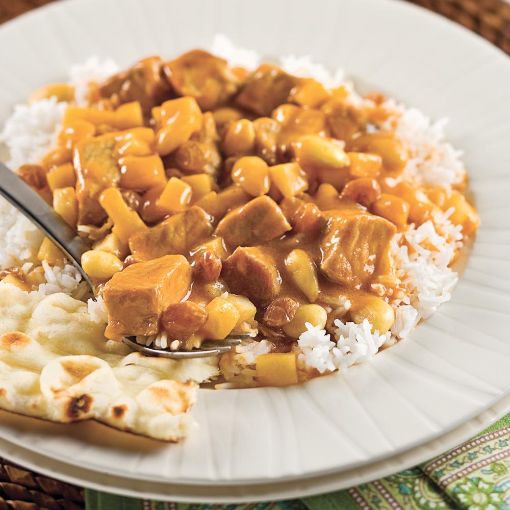 Mijot de porc de madras recettes cuisine et nutrition - Cuisine a la mijoteuse ...