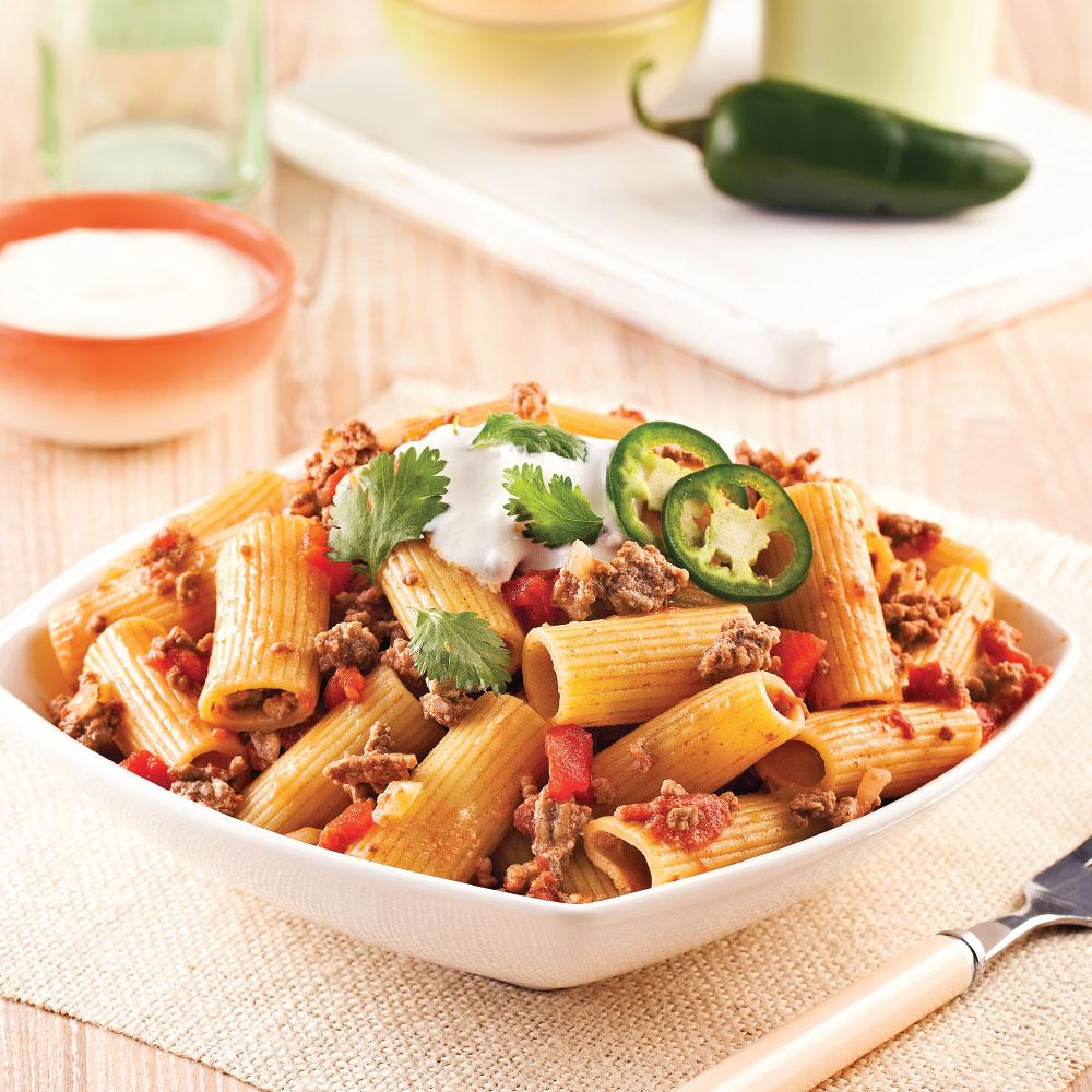 one pot pasta de rigatonis pic s recettes cuisine et nutrition pratico pratique. Black Bedroom Furniture Sets. Home Design Ideas