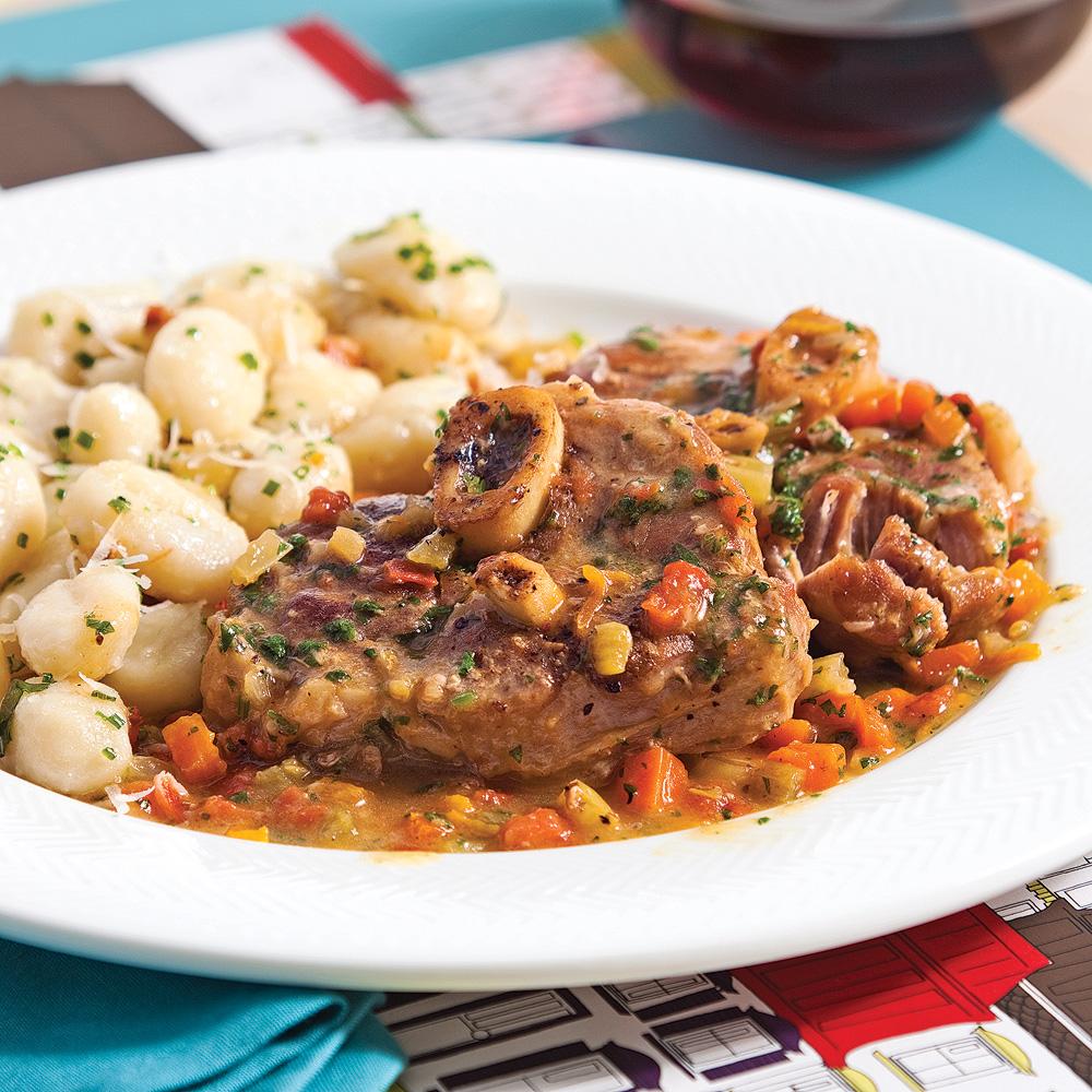 Osso buco de porc aux agrumes recettes cuisine et - Cuisine a la mijoteuse ...
