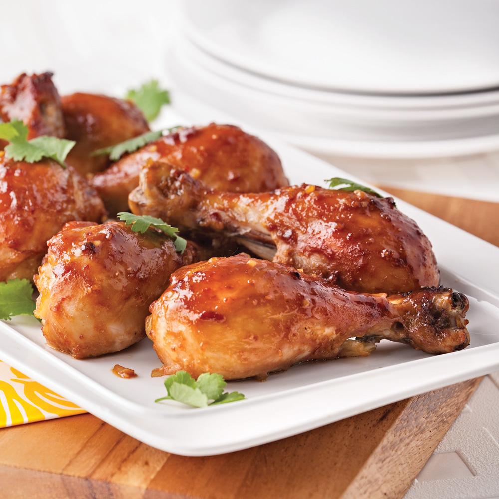Pilons de poulet à l'asiatique   recettes   cuisine et nutrition ...