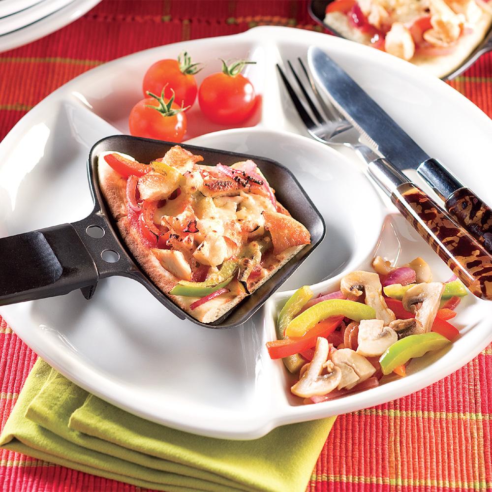Pizza raclette recettes cuisine et nutrition pratico pratique - Faire une raclette originale ...
