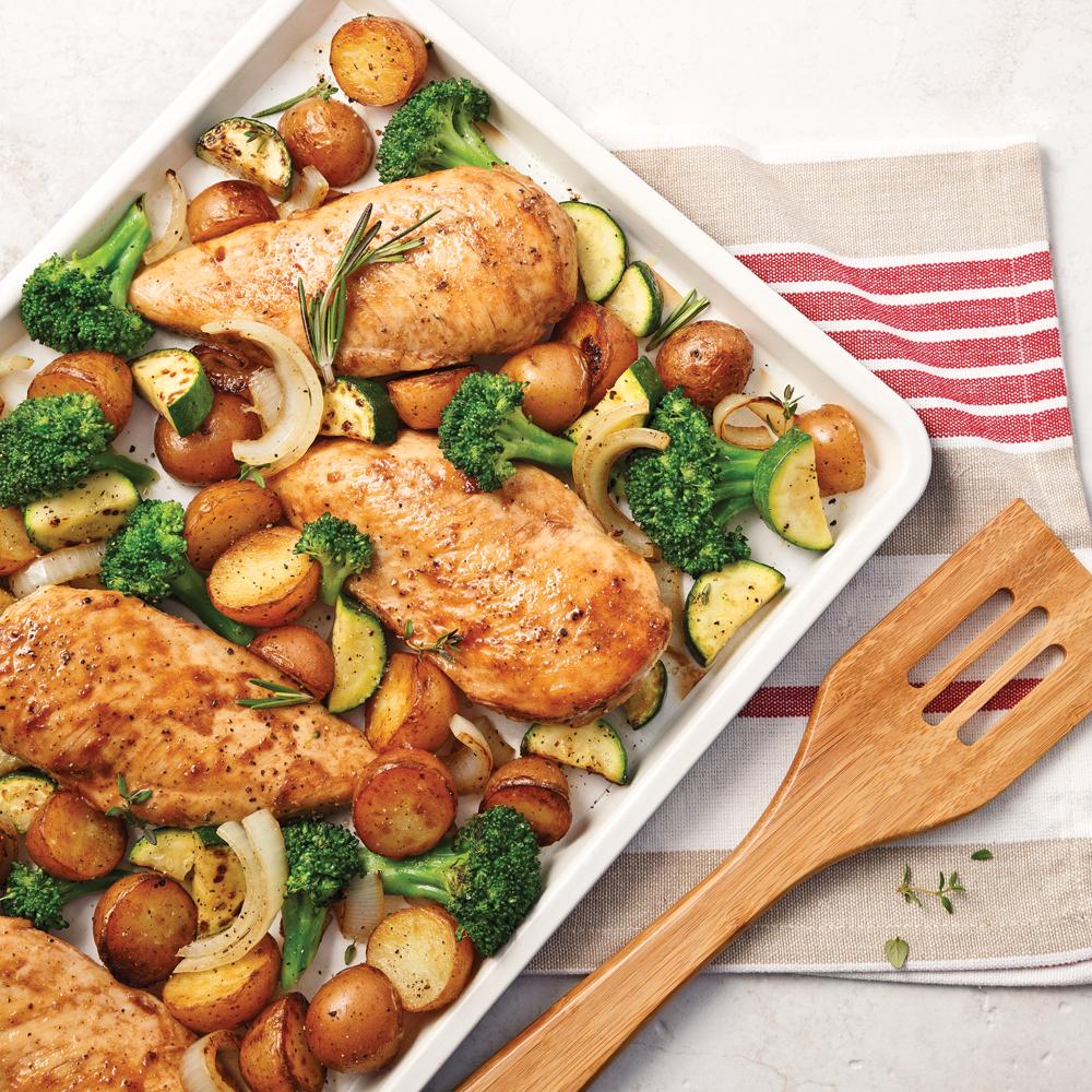 Poitrines de poulet sauce sucr e au vinaigre balsamique recettes cuisine et nutrition - Filet de poulet au four ...