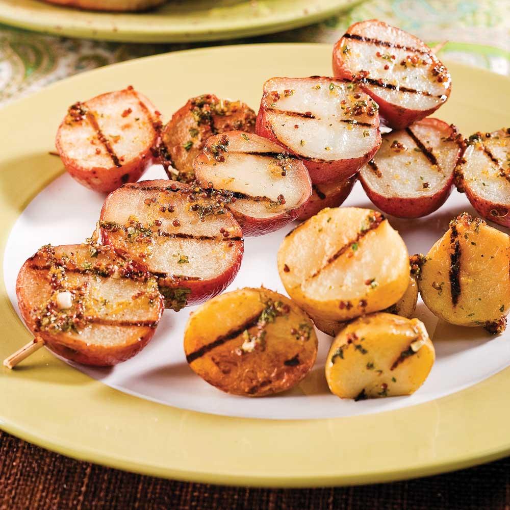 Pommes de terre grelots la moutarde recettes cuisine et nutrition pratico pratique - Cuisine moutarde ...
