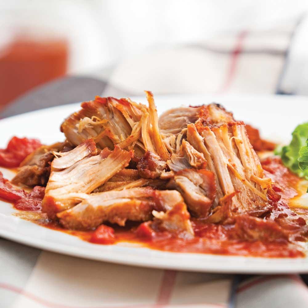Jambon brais au barbecue - Filet mignon de porc grille au barbecue ...
