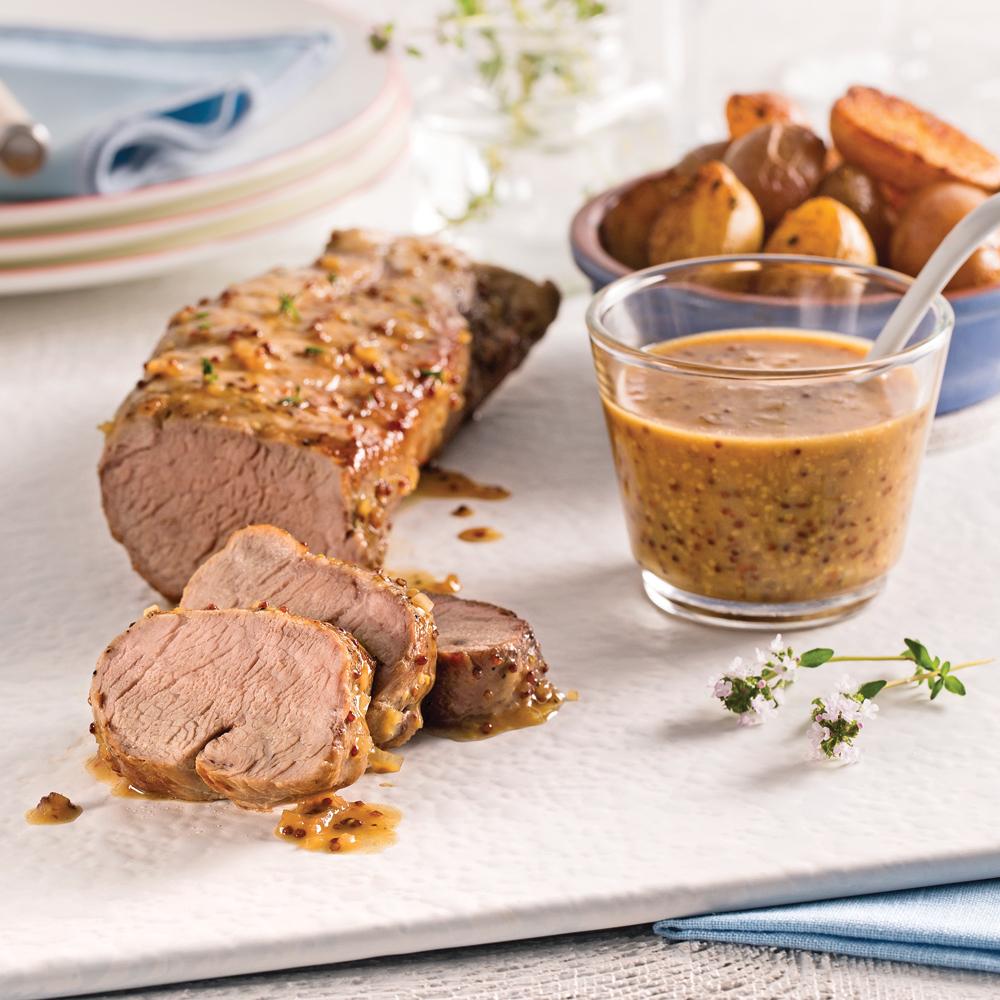 Porc miel et dijon recettes cuisine et nutrition - Plat cuisine a congeler ...