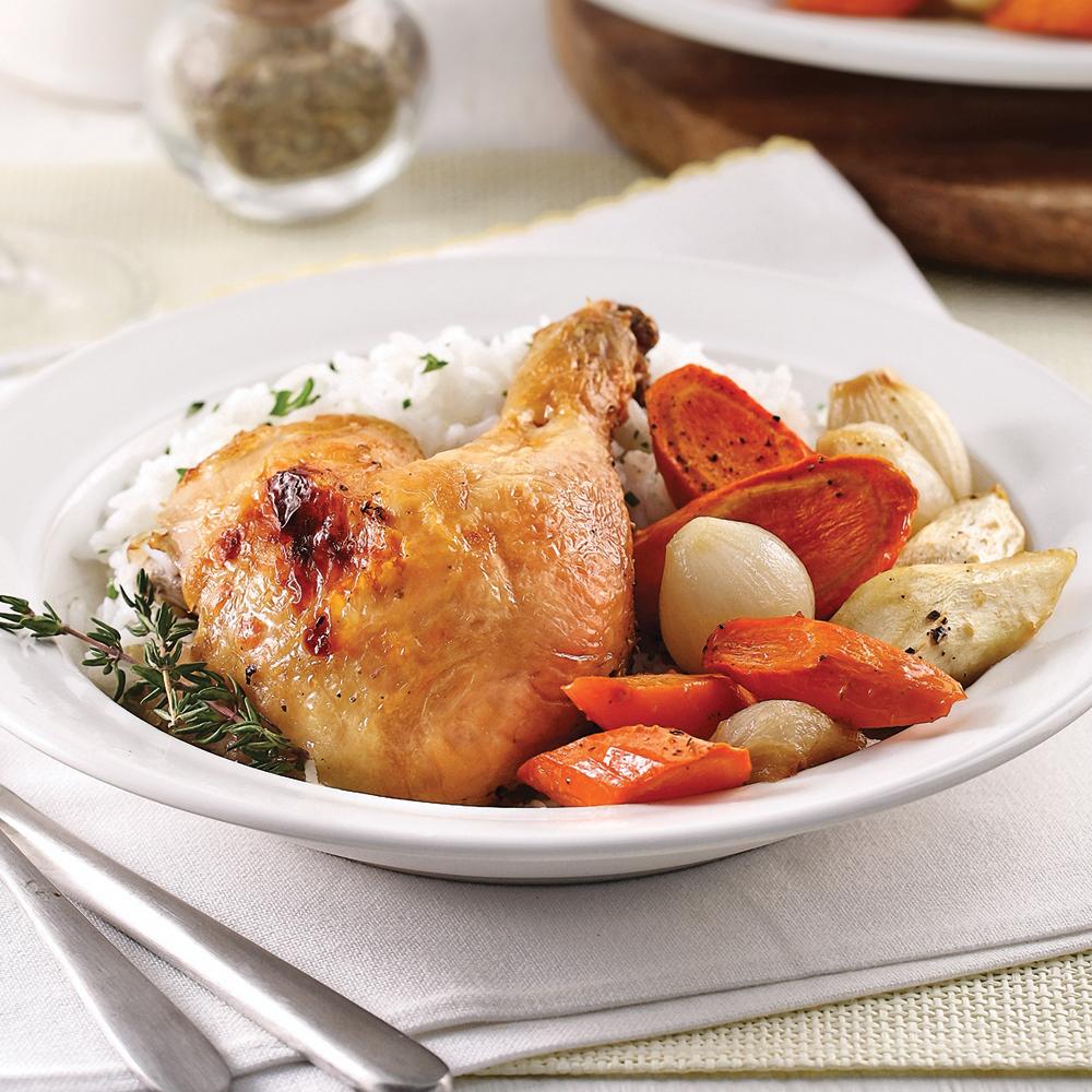 Un menu pour la semaine cuisiner le dimanche dossiers - Cuisiner un poulet roti ...
