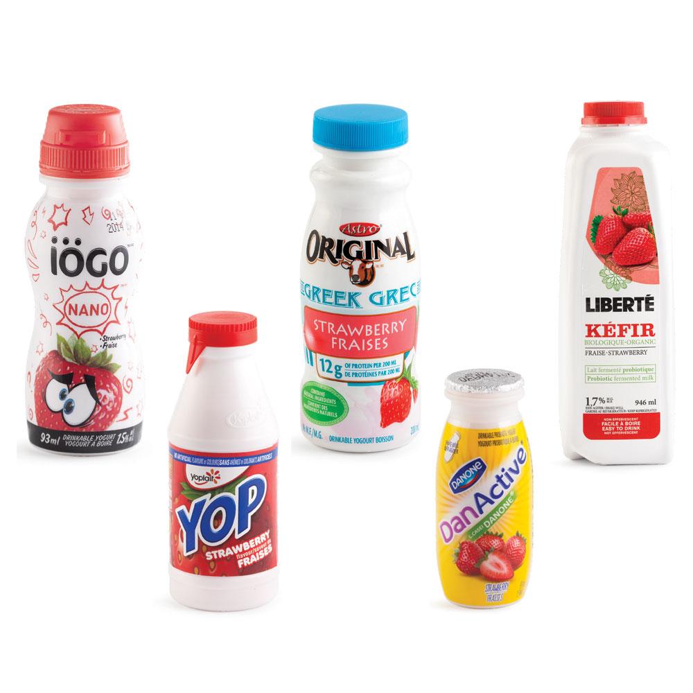 Quel est le meilleur yogourt boire nutrition for Quel est le meilleur cuisiniste