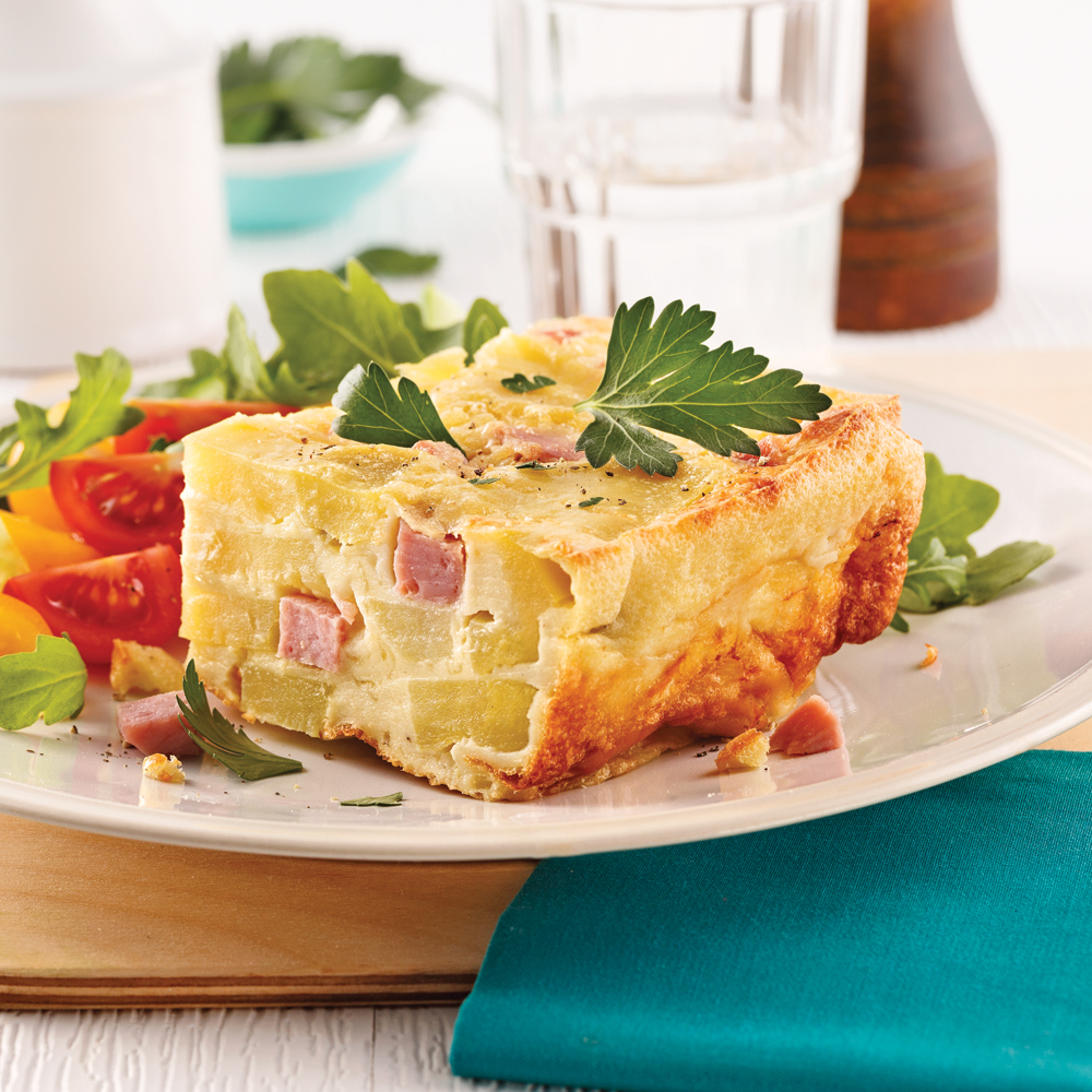 quiche jambon fromage sans p 226 te recettes cuisine et nutrition pratico pratique