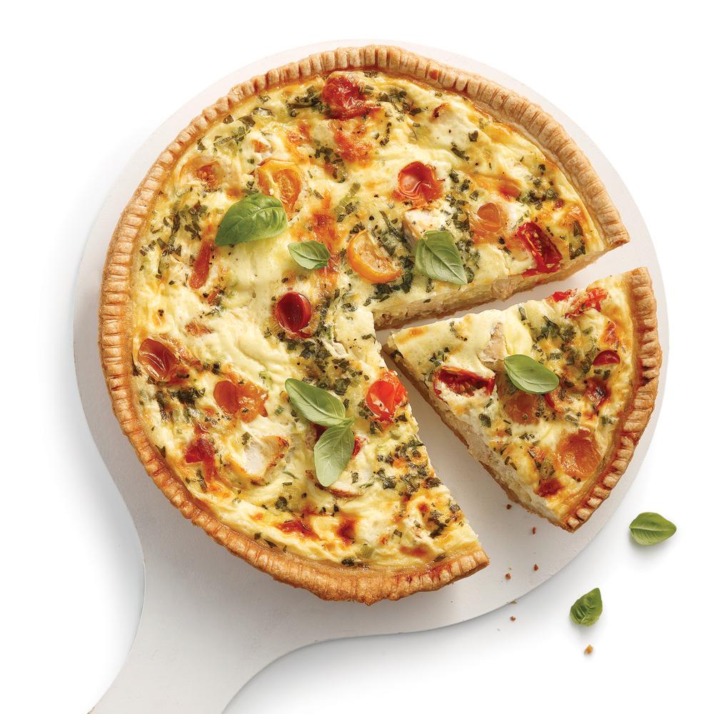 Quiche au poulet l 39 italienne recettes cuisine et for Cuisine a l italienne