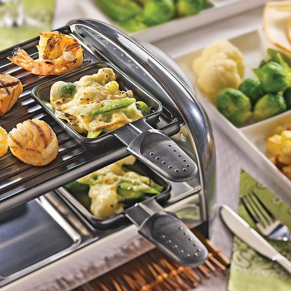 Raclette de la mer recettes cuisine et nutrition - Quantite de fromage a raclette par personne ...