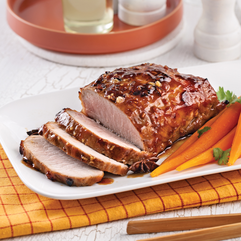 Rôti de porc caramélisé à l'asiatique - Recettes - Cuisine et ...