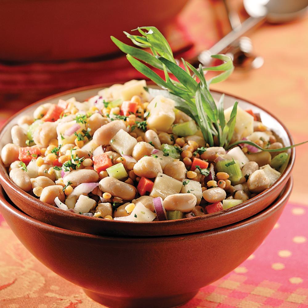 salade de l 233 gumineuses aux haricots blancs recettes cuisine et nutrition pratico pratique