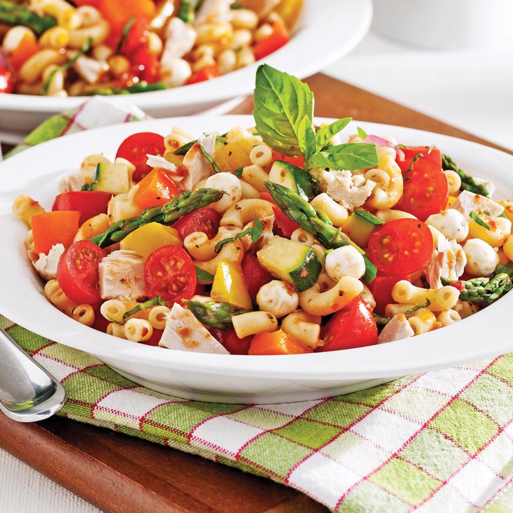 Salade de pates sans gluten r gime pauvre en calories for Regime pates