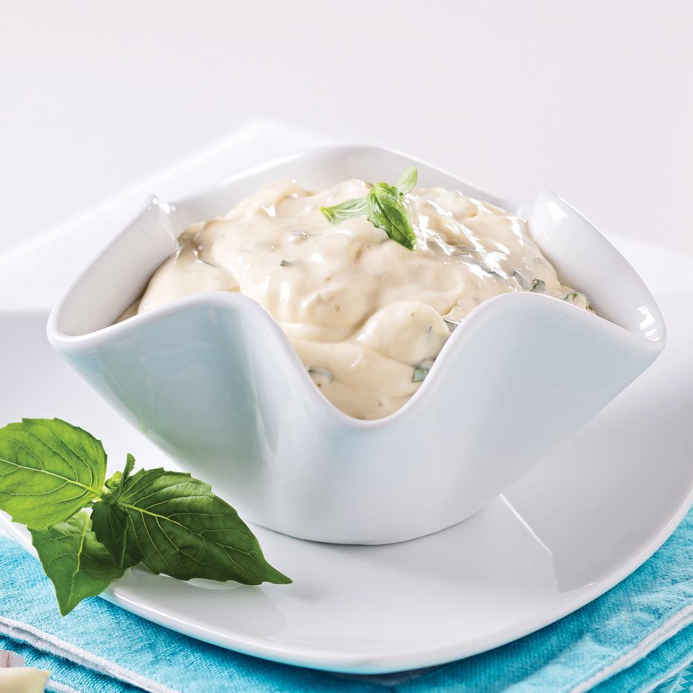 sauce fondue a oli aux c pres et basilic recettes. Black Bedroom Furniture Sets. Home Design Ideas