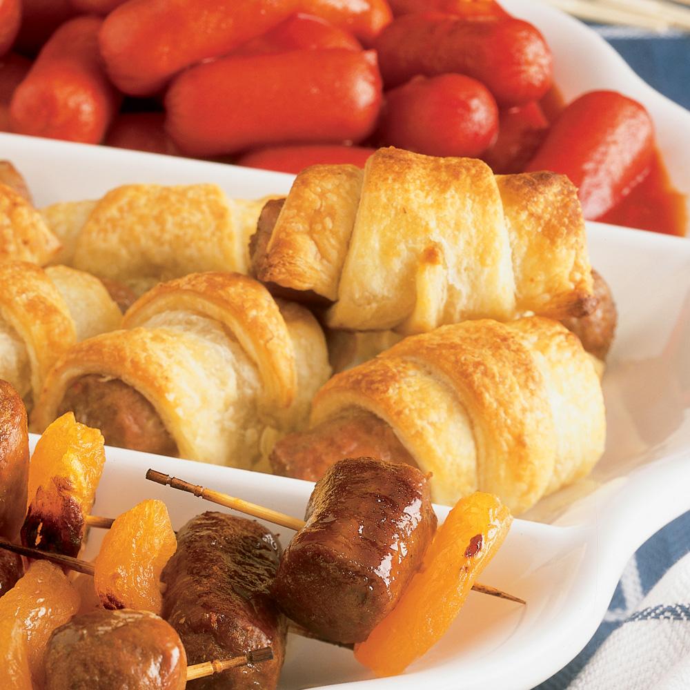 saucisses en p 226 te feuillet 233 e recettes cuisine et nutrition pratico pratique