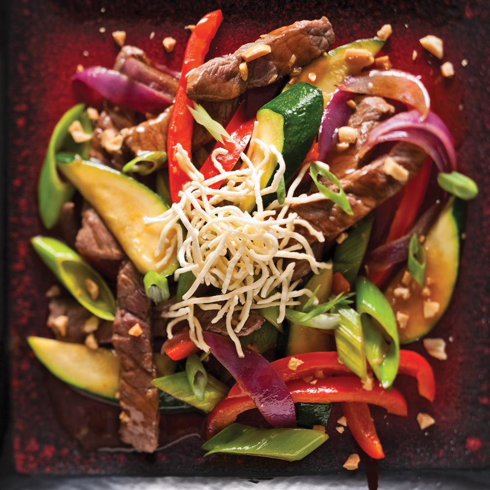 Sauté de boeuf aigre doux à l'asiatique   recettes   cuisine et ...