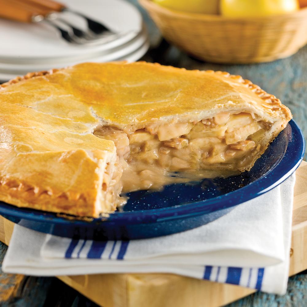 Tarte aux pommes pacanes et rable recettes cuisine et nutrition pratico pratique - Peut on congeler des poires ...