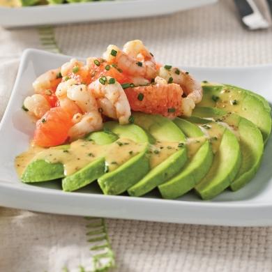 salade d 39 avocats crevettes et pamplemousse entr es et soupes recettes 5 15 recettes. Black Bedroom Furniture Sets. Home Design Ideas