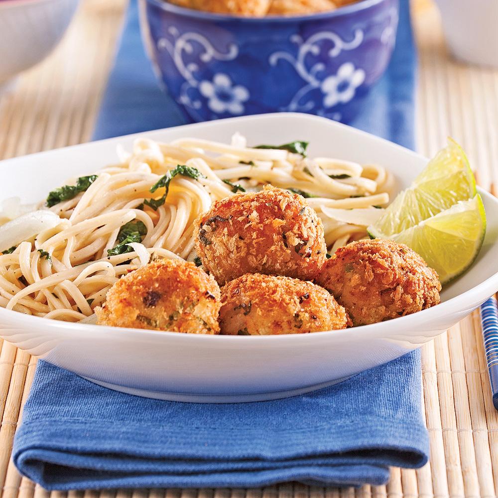 Boulettes de crevettes au gingembre soupers de semaine - Cuisiner le gingembre ...