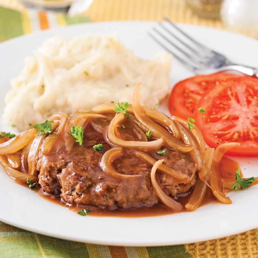 Steak salisbury soupers de semaine recettes 5 15 for Cuisine 5 15