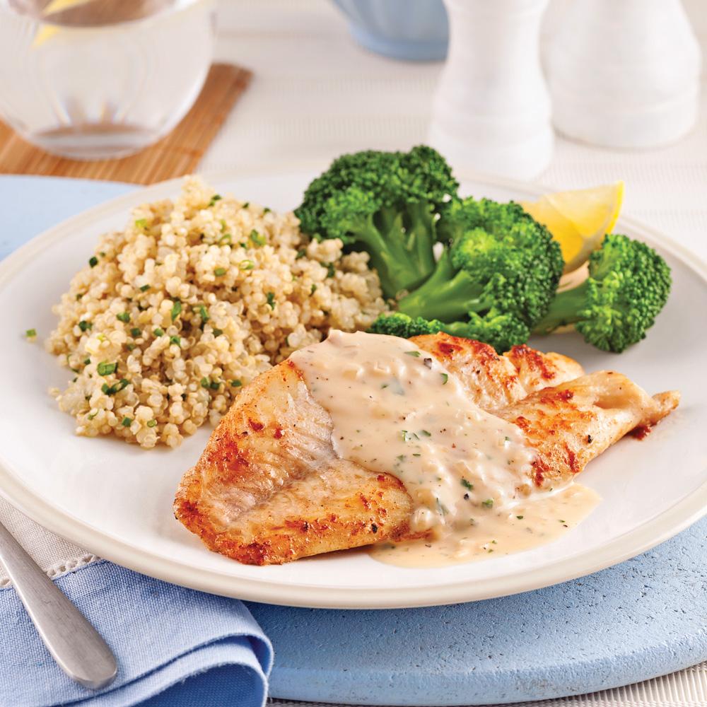 Cuisson la perfection le poisson simplement po l trucs et conseils cuisine et nutrition - Poisson a la poele ...
