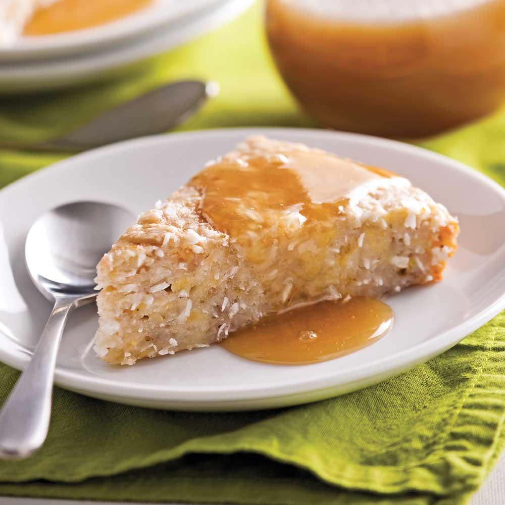 g 226 teau coco bananes desserts recettes 5 15 recettes express 5 15 pratico pratique