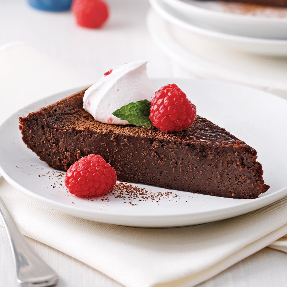 G teau fudge au chocolat sans farine desserts recettes 5 15 recettes express 5 15 - Gateau au chocolat sans farine ...