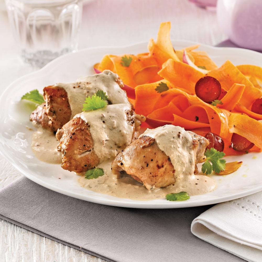 Hauts de cuisses de poulet tandoori soupers de semaine - Cuisse de poulet calories ...