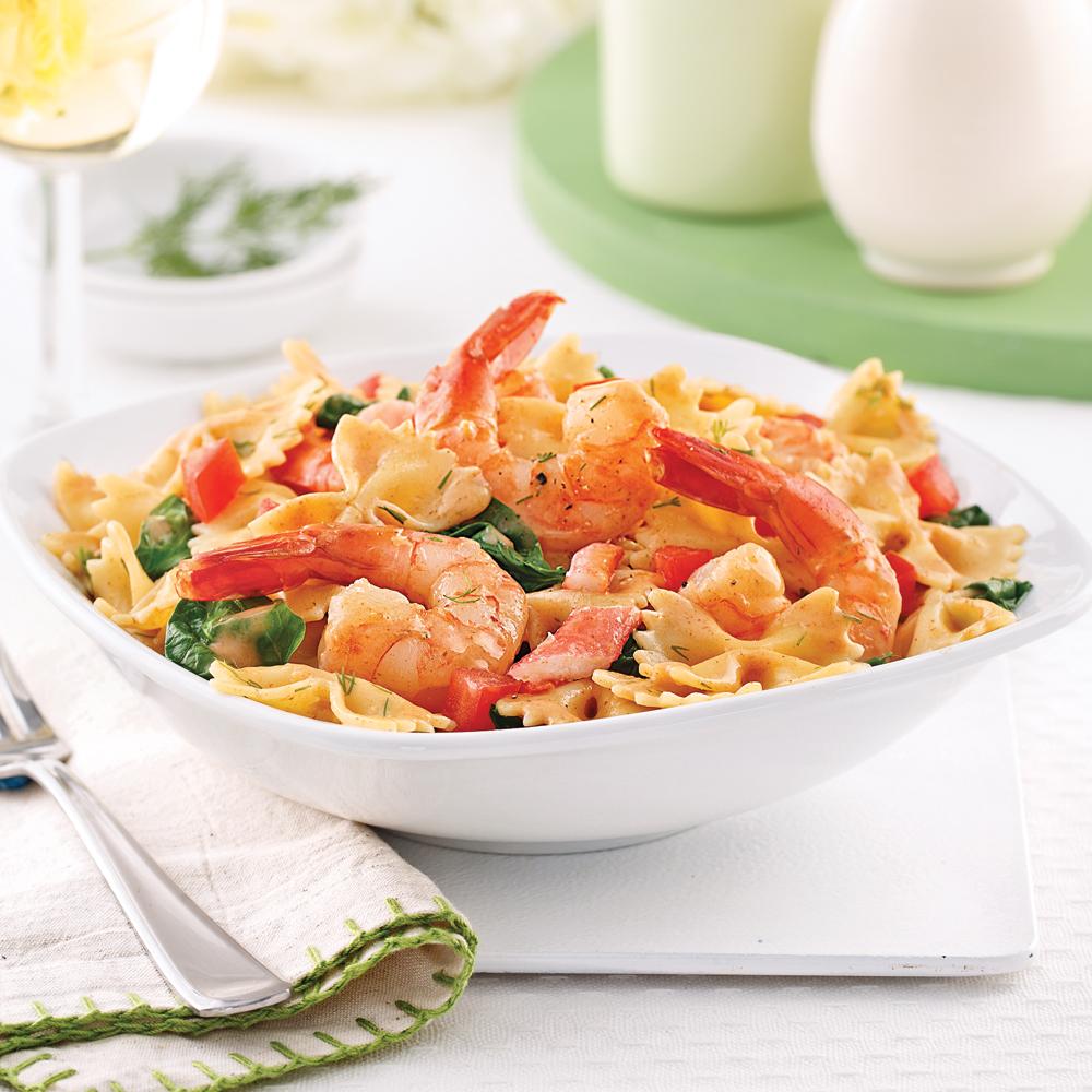 p 226 tes au crabe et crevettes soupers de semaine recettes 5 15 recettes express 5 15
