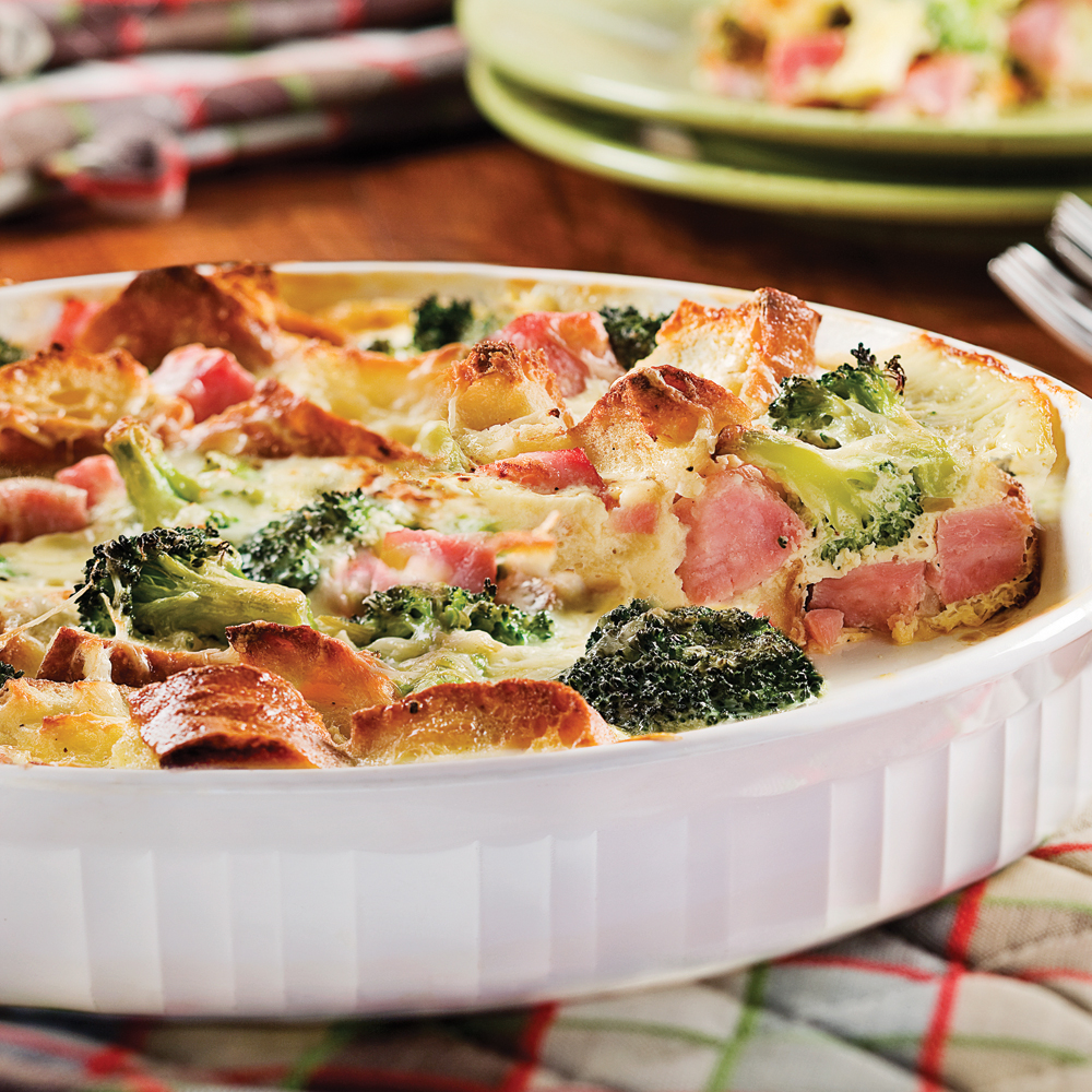 quiche express au jambon et brocoli recettes cuisine. Black Bedroom Furniture Sets. Home Design Ideas