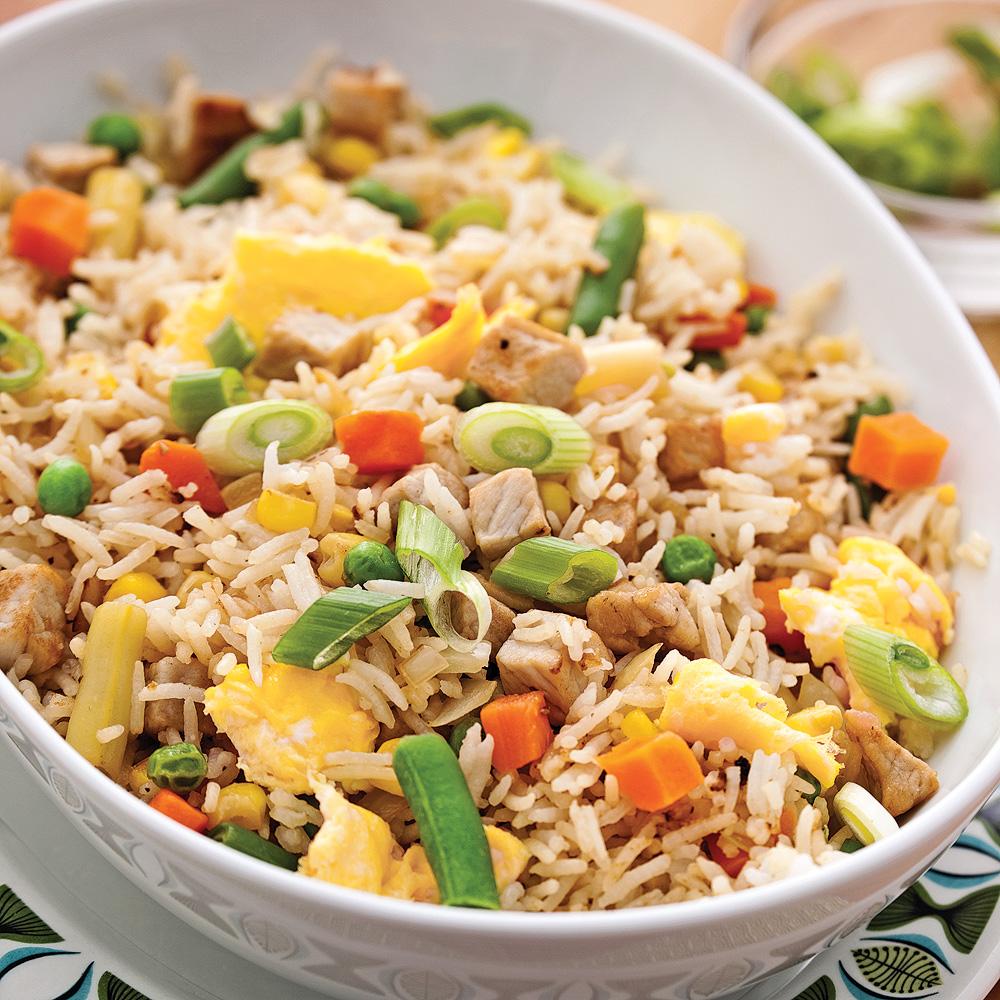 Riz frit aux l gumes et porc soupers de semaine for Cuisine 5 15