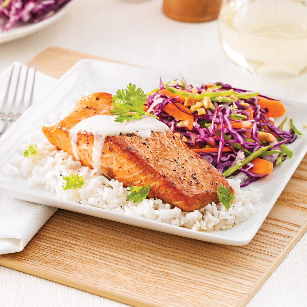 saumon tha soupers de semaine recettes 5 15 recettes express 5 15 pratico pratique. Black Bedroom Furniture Sets. Home Design Ideas